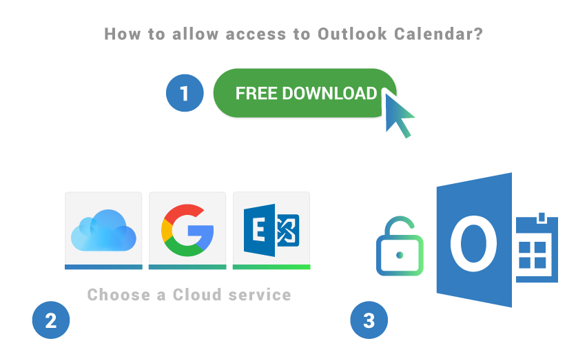 How to allow access to Outlook Calendar