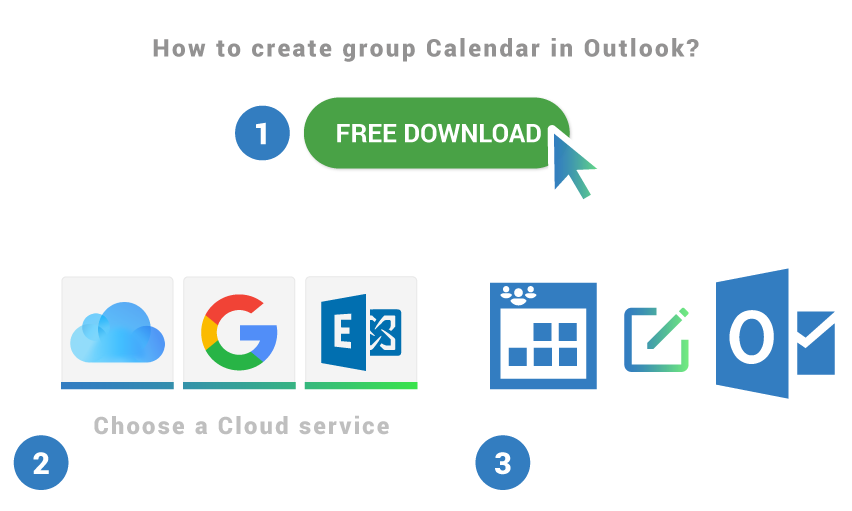 How to create group calendar in Outlook