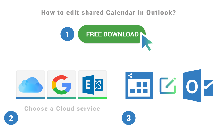 How to edit shared calendar in Outlook