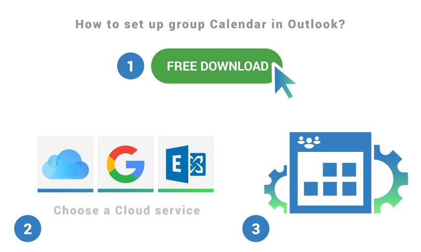 How to set up Group calendar in Outlook