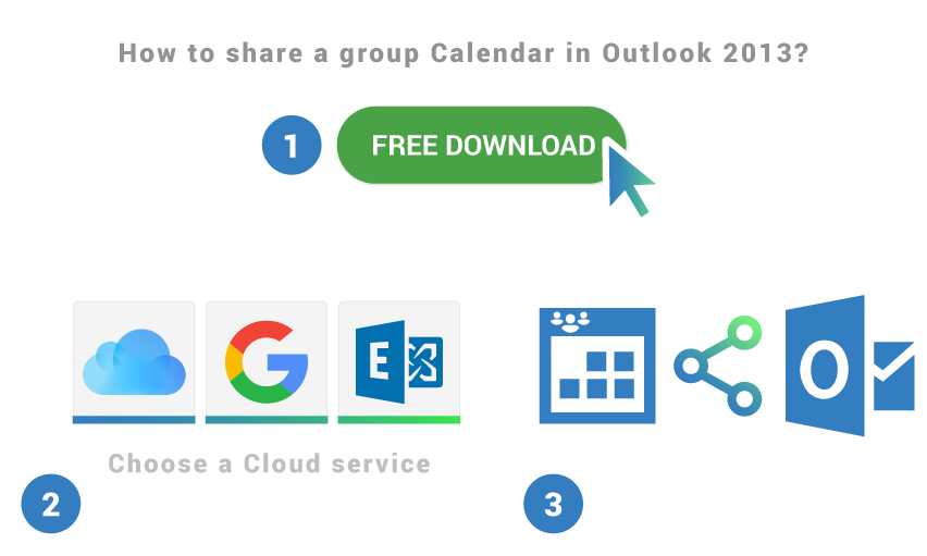 How to share a Group calendar in Outlook 2013