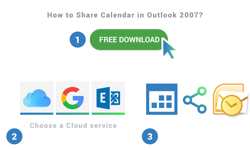 How to share calendar in Outlook 2007