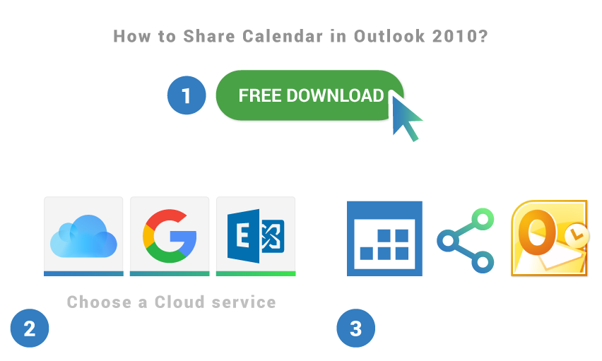 How to share calendar in Outlook 2010