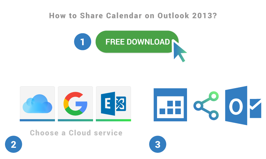 How to share calendar on Outlook 2013