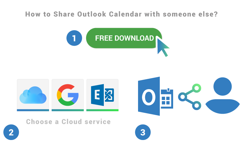 How to share Outlook Calendar with someone else