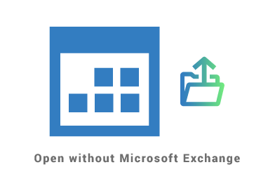 Open shared Calendar in Outlook without Microsoft Exchange