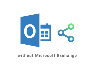 Sharing a calendar in Outlook without Exchange