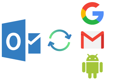 Sync Outlook with Google, Gmail, Andriod