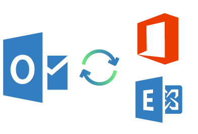 Sync Outlook with Microsoft Exchange, Office 365