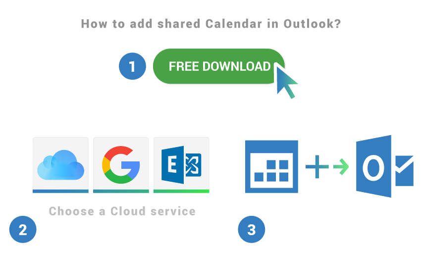 How to add shared calendar in Outlook