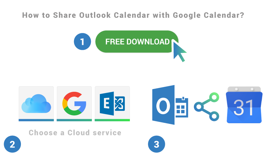 How to share Outlook Calendar with Google Calendar