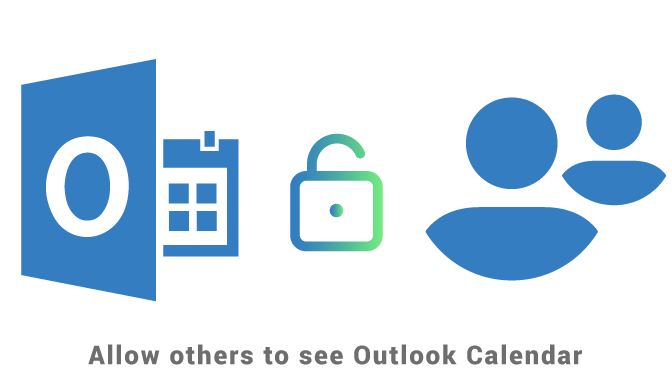 Allow others to see your Outlook Calendar