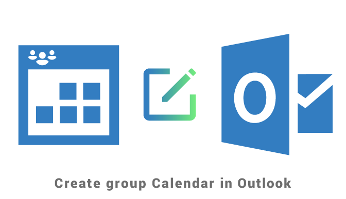Create group calendar in Outlook