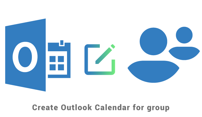 Create Outlook Calendar for group