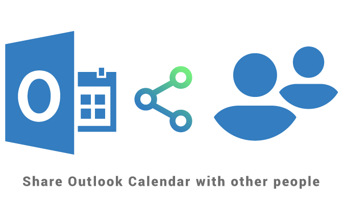 Share Outlook Calendar with other people
