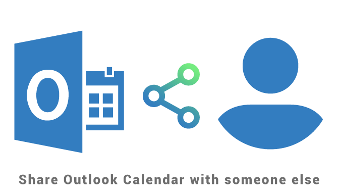 Share Outlook Calendar with someone else