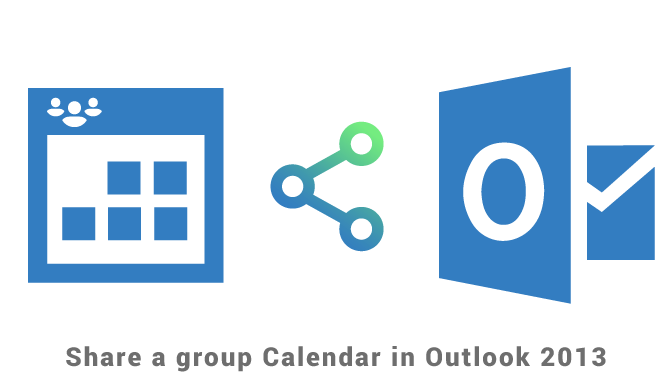 Share a Group calendar in Outlook 2013