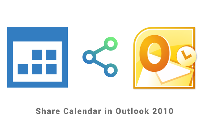 Share calendar in Outlook 2010