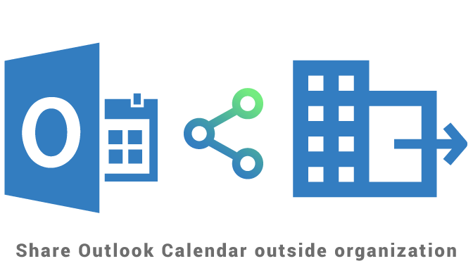 Share Outlook Calendar outside organization