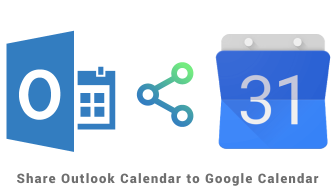 Share Outlook Calendar to Google Calendar