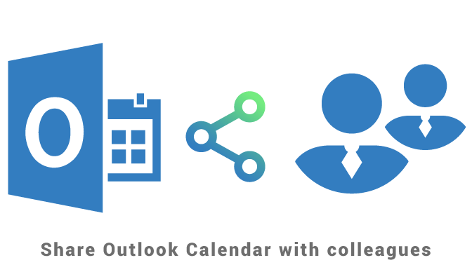Share Outlook Calendar with colleagues