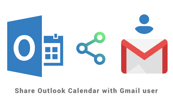 Share Outlook Calendar with Gmail user