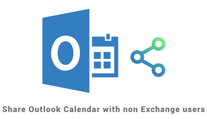 Share Outlook Calendar with non-Exchange users