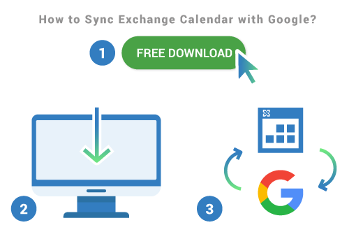 Sync Exchange Calendar with Google using free Sync2Cloud